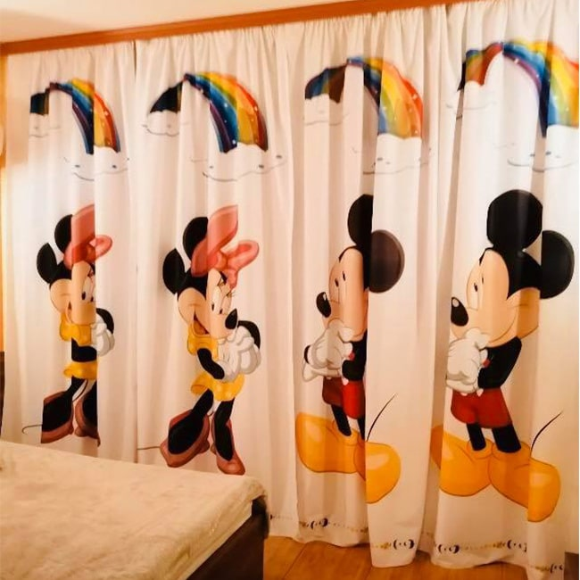 Draperie Mikey Mouse
