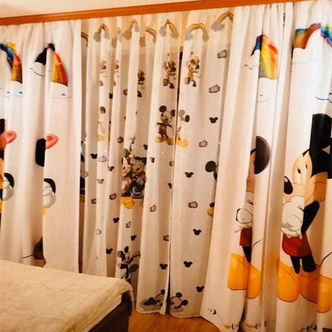 Perdele si Draperii Mikey Mouse