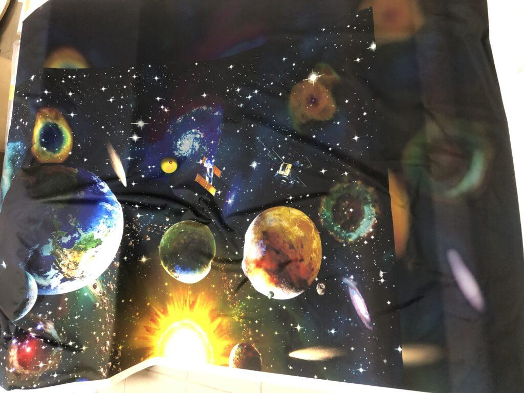 Draperie Planete