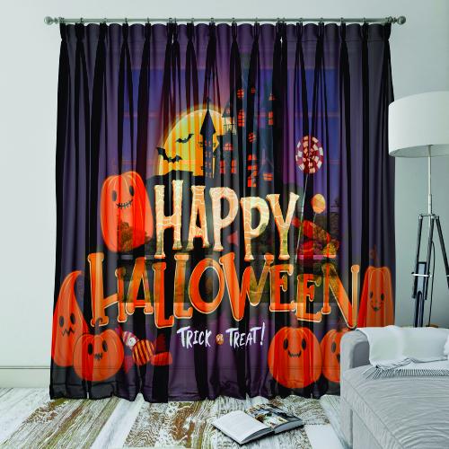 Perdele Happy Halloween