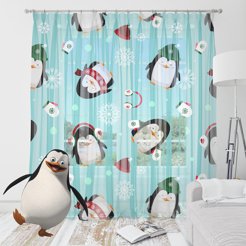 perdele pinguini