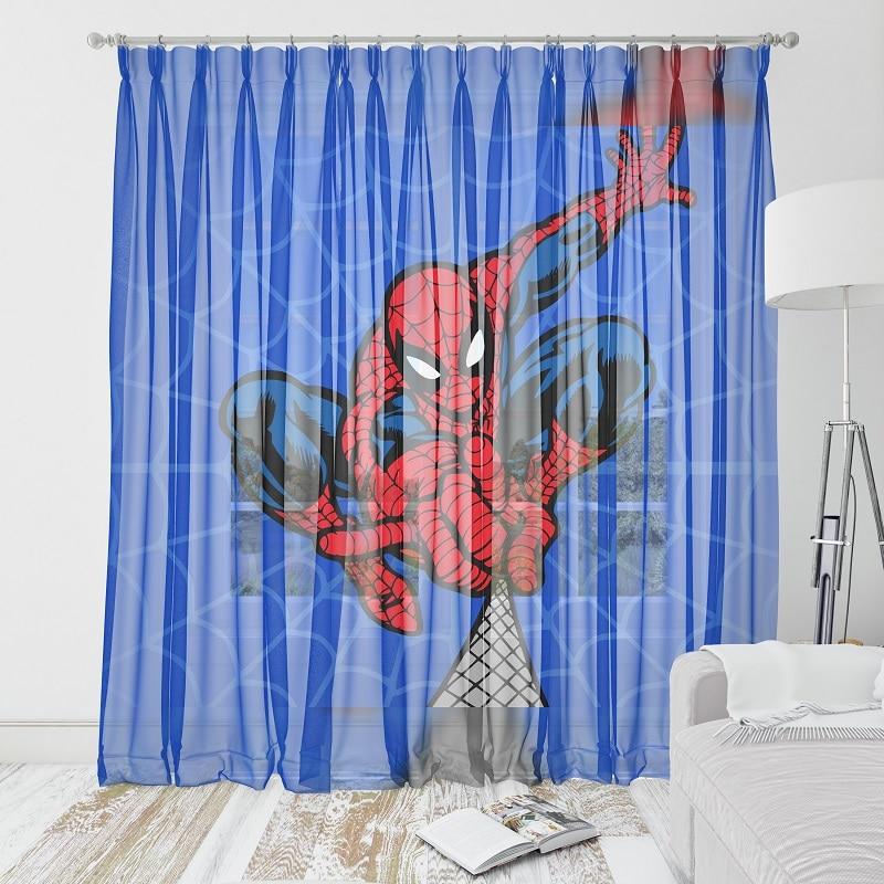 Perdea cu spiderman